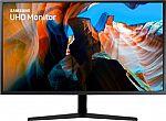 "Samsung U32J590UQN 32"" LED 4K UHD FreeSync Monitor $279, 27"" HP 27f $109, and many more"