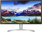 "LG UltraFine 32"" 4K IPS UHD LED Monitor (32UL750-W) $399"