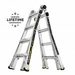 Gorilla Ladders 18 ft. Reach MPX Aluminum Multi-Position Ladder $99 and more