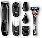 Braun MGK3060 - 8-in-1 Men's Rechargeable Electric Grooming Kit $9.65