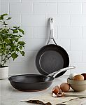 "Anolon Nouvelle 8.5"" & 10"" Skillet Set $30 (Org $180), OXO 3-Pc. Pop Cereal Dispenser Set $30 & More + Free Shipping"
