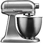 KitchenAid Artisan Mini KSM3311XCU 14-Cup Mixer $157