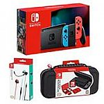 Nintendo Switch Neon Blue and Neon Red Joy-Co Bundle $299.99