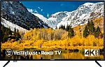 "Westinghouse 50"" LED 2160p Smart 4K UHD TV with HDR Roku TV $149.99"