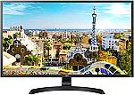 "Amazon Monitor Sale: Acer CB272 27"" FHD IPS Monitor w/ AMD Radeon FreeSync $129, LG 32UD60-B 4K UHD Monitor $299 and more"