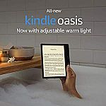 All-new Kindle Oasis + $5 eBook Credit $174.99 (Save $75)