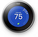 Google, T3007ES, Nest Learning Thermostat, 3rd Gen, Smart Thermostat $139.99