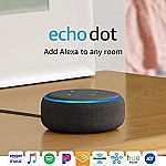 Amazon Echo Dot (3rd Gen) Smart speaker with Alexa $30