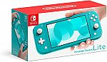 Nintendo Switch Lite Turquoise Gaming Console $180