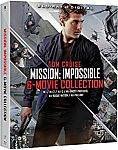 Mission: Impossible - 6 Movie Collection [Blu-ray] $12.99, 4K HUD $38, Transformers: The Ultimate Five Movie Collection [blu-ray] $20 and more