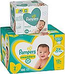 Amazon Pampers Diapers & Wipes Bundle (Save $10 or More)
