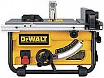 DEWALT DWE7480 10 in. Compact Job Site Table Saw with Site-Pro Modular Guarding System $229