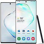 512GB Samsung Galaxy Note10+ Unlocked Smartphone (various colors) $799.99