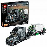 LEGO Technic Mack Anthem 42078 Building Set (2595-Pc) $130 (Reg. $180) & More