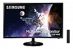 "Samsung 32"" Curved 1920x1080 HDMI 60hz 4ms FHD LCD Monitor- LC32F39MFUNXZA (Speakers Included) $149.99"