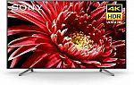 "Sony 85"" BRAVIA 4K UHD HDR Smart LED TV (XBR85X850G) $1,998"