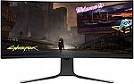 Alienware NEW Curved 34 Inch WQHD 3440 X 1440 120Hz, NVIDIA G-SYNC, IPS LED Edgelight Monitor AW3420DW $850 (Today only)