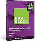 50% Off H&R 2019 Block Tax Software Premium $32.49, Deluxe + State $22.49 (Today only)