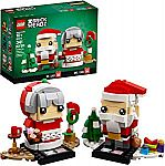 LEGO BrickHeadz Mr. & Mrs. Claus 40274 $9.09 (55% off) & More (Today only)