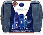 NIVEA Pamper Time Gift Set - 5 Piece w/ Travel Bag $12 & More