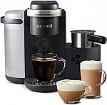 Keurig K-Cafe Coffee Maker, Single Serve K-Cup Pod Coffee, Latte and Cappuccino Maker $99 (save $80)