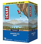 18-Count CLIF BAR - Energy Bars (Chocolate Chip) $4.50