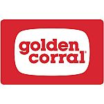 Golden Corral $50 Value Gift Cards $37.50, $100 Logan's Steakhouse GC $75