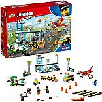 LEGO Juniors City Central Airport 10764 Building Kit (376 Pieces) $23 (Org $50)