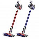 Dyson V6 Absolute HEPA Cordless Vacuum (Refurbished) $135 and more