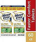 Move Free Ultra Faster Comfort Joint Health Tablets 60 Count $9.83