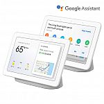 2-pack Google Home Hub Smart Display + 2-pack Nest Mini $140