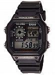 Casio Men's World Time Multifunction Watch $11