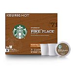 96-Count Starbucks Pike Place Roast Medium Roast K-Cups $37.58