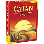 Board Games Buy 1 Get 1 Free:  Settlers of Catan + Catan 5/6 Player Extension $25 & More
