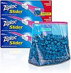 Ziploc Gallon Slider Storage Bags, 32 ct (Pack of 3) $7.20