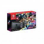 Nintendo Switch w/ Gray Joy-Con + Mario Kart 8 Deluxe $299.99
