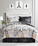 Macys 8-piece comforter sets (many designs) $27.99 Shipped (orig. $100)