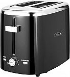 Bella 2-Slice Extra-Wide/Self-Centering-Slot Toaster $9.99