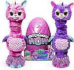 "32"" Hatchimals WOW, Llalacorn Interactive Hatchimal with Re-Hatchable Egg $40 (Was $60)"