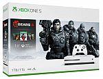 1TB Xbox One S Gears of War 5 or Star Wars Jedi: Fallen Order $179, 1TB Xbox One X Bundle $299