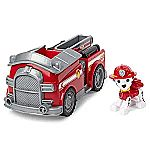 Paw Patrol Marshall's Fire Engine Vehicle w/ Collectible Figure $5 & More