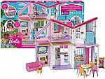 Barbie Malibu House Playset + Washable No Run School Glue $41, (More $10 Off $50 toy sale)