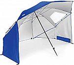 Sport-Brella Vented SPF 50+ Sun and Rain Canopy Umbrella for Beach and Sports Events (8-Foot) $30