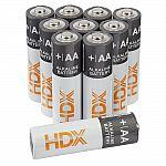 Home Depot HDX Brand Batteries: 100-Pk AA $16.69, 100-Pk AAA $15 + Free Shipping