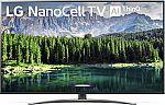"LG 75SM8670PUA Nano 8 Series 75"" 4K Ultra HD Smart LED NanoCell TV (2019) $999"