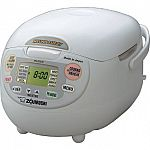 Zojirushi NS-ZCC18 Neuro Fuzzy Rice Cooker (10 cup) $124.49 (Today only)