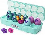 Hatchimals Colleggtibles, Jewelry Box Royal Dozen 12 Pack Egg Carton with 2 Exclusive $10.39