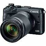 Canon EOS M6 Mirrorless Digital Camera with 18-150mm Lens $449 and more