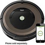 iRobot Roomba 890 App-Controlled Self-Charging Robot Vacuum $299.99