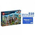 LEGO Harry Potter Hagrid's Hut: Buckbeak's Rescue 75947 $48 + Get $10 Walmart Gift Card